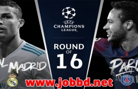 Real Madrid vs PSG Live Streaming & Kick off Time UEFA Champion League 2nd Leg